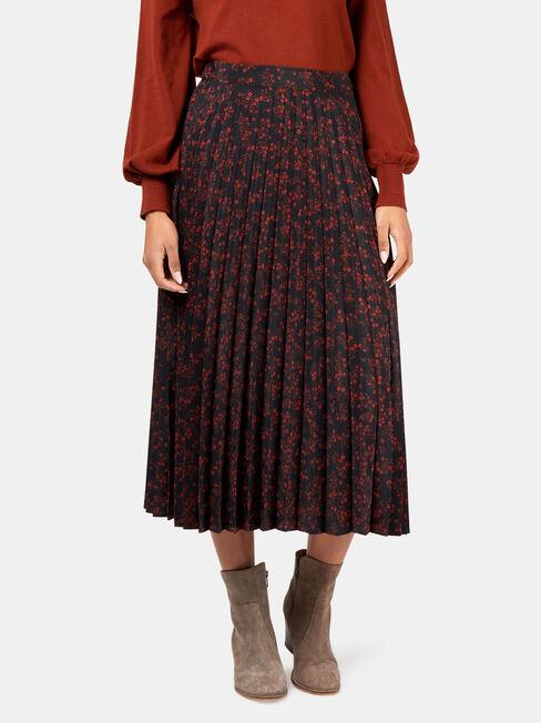 Heidi Pleat Skirt