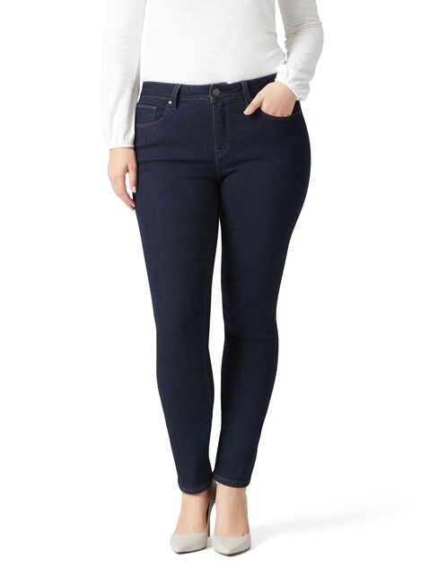 Curve Embracer Skinny Jeans Absolute Indigo, No Wash, hi-res