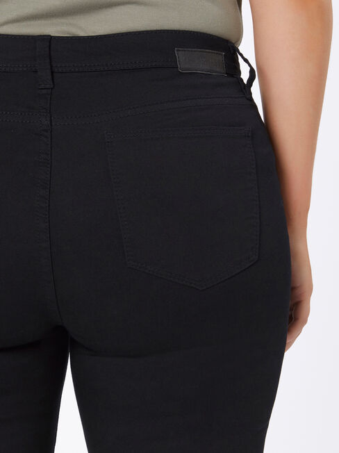 Curve Embracer Skinny Jeans Absolute Black, Black, hi-res