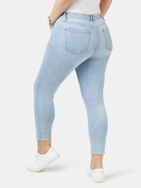 Lacey Curve Embracer skinny Crop jeans, Other, hi-res