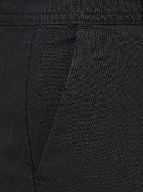 Avril Chino Pant, Black, hi-res