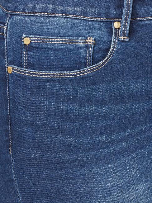 Kara Curve Embracer Skinny Capri Jeans Mid Vintage, Mid Indigo, hi-res