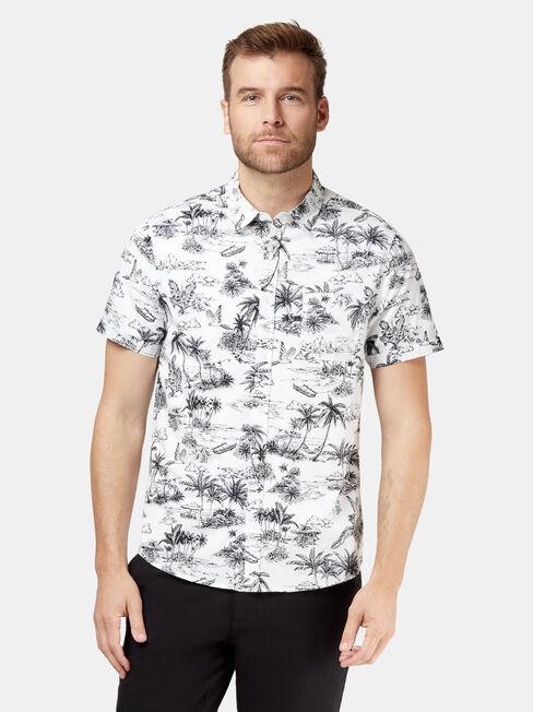 Paradise Short Sleeve Print Shirt