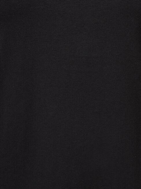 Charlotte Long Sleeve Tee, Black, hi-res