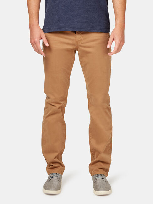 Slim Straight Jeans Tobacco