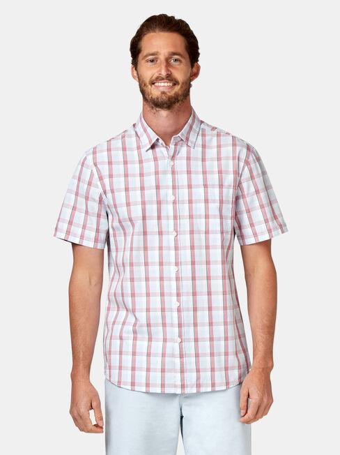 Todd Short Sleeve Check Shirt