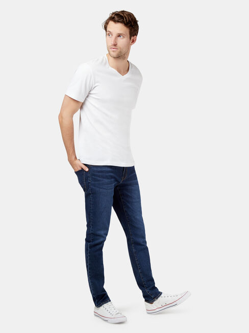Eco Denim Flex 360 Slim Tapered Jeans
