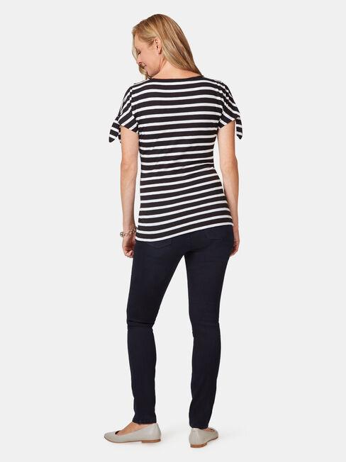 Maternity Skinny jeans Indigo Ink / Elastic ins, Dark Indigo, hi-res