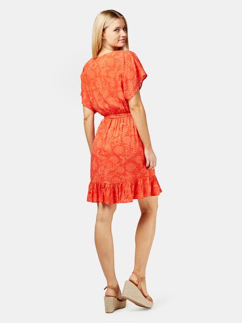 London Print Dress, Print, hi-res