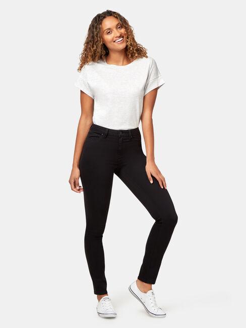 Skinny Jeans, Black, hi-res