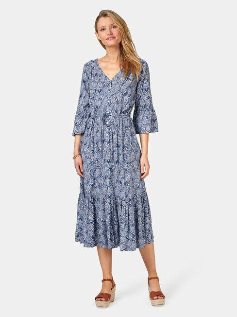 Willow Peasant Dress