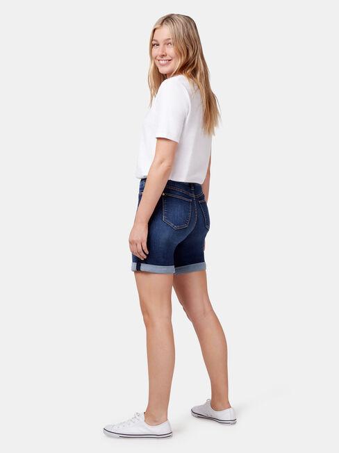 Sonni Bermuda Short, Blue, hi-res