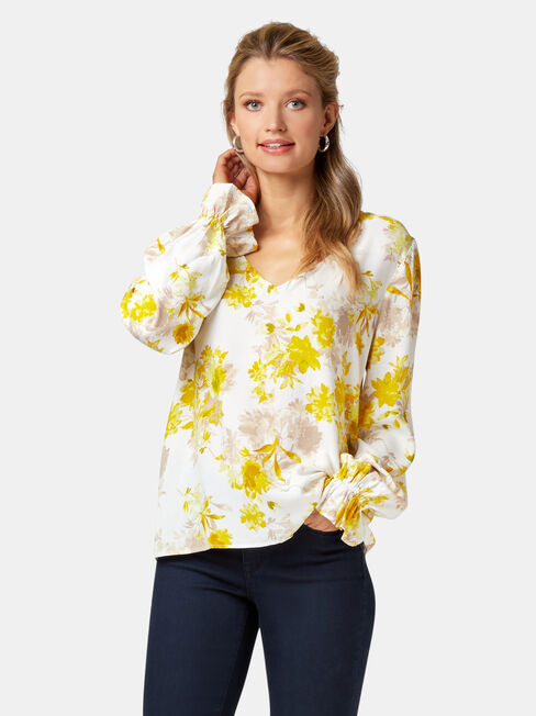 Evie Printed Blouse
