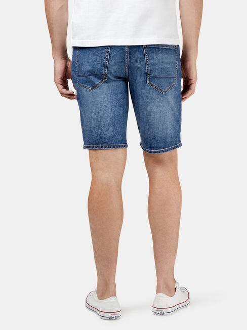 Tyler Denim Short, Blue, hi-res