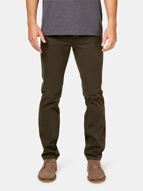 Slim Straight Jeans Dark Forest