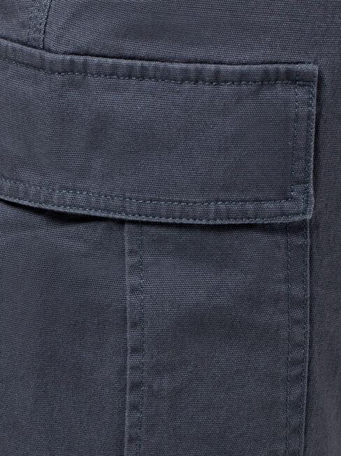 Hugh Cargo Pant, Black, hi-res