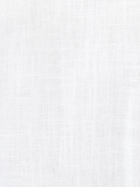 Fiona Ruffle Sleeve Top, White, hi-res
