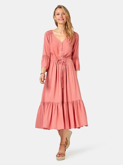 Willow Peasant Dress