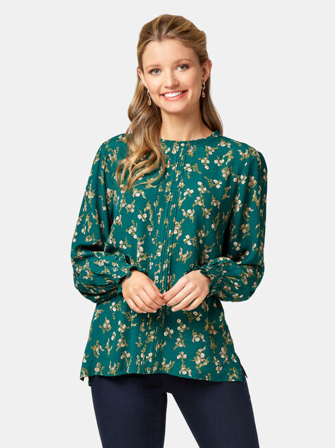 Lilianna High Neck Blouse