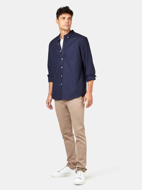 Heston Long Sleeve Oxford Shirt