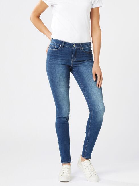 Butt Lifter Skinny Jeans