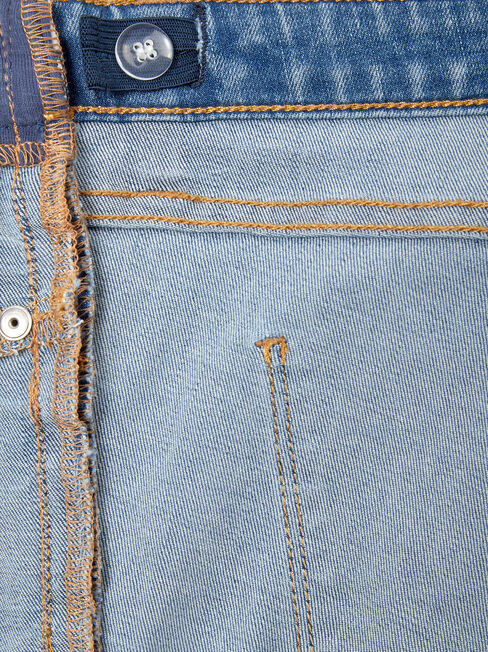Kian Maternity Bermuda Short, Blue, hi-res