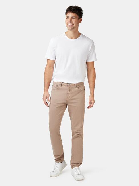 Slim Tapered Jeans Dark Stone