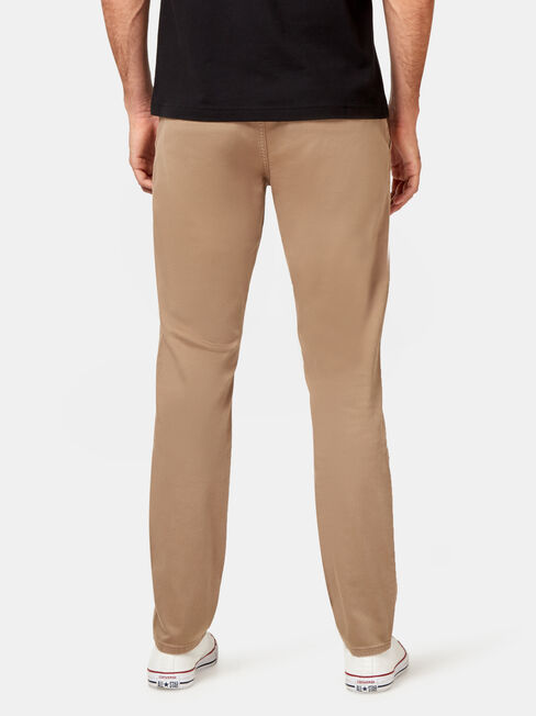 Slim Tapered Coloured Knit Jeans, Coloured, hi-res