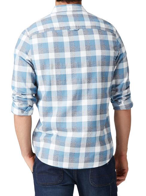 LS Baldwin Check Shirt, Blue, hi-res