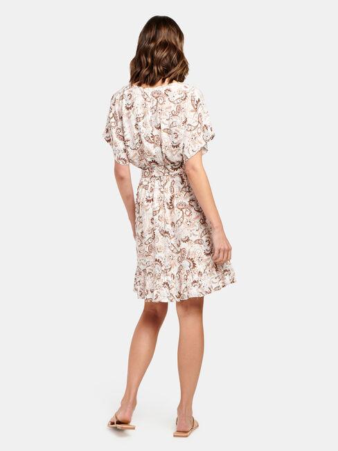 Harper Tiered Dress, Print, hi-res