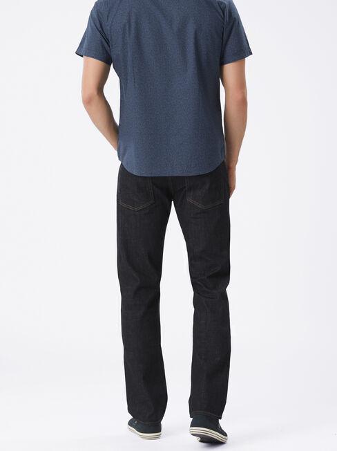 Straight Jeans Slick Indigo, Dark Indigo, hi-res