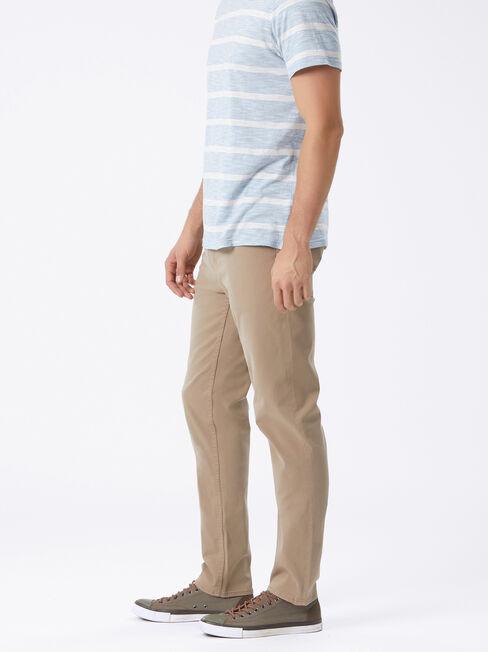 Slim Straight jeans Dark Stone, Coloured, hi-res