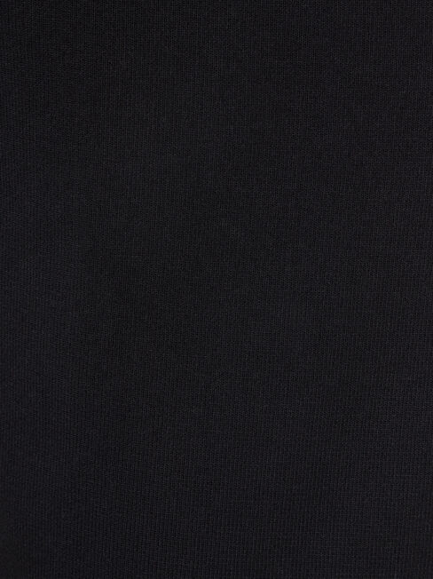 Giselle Waterfall Cardigan, Black, hi-res