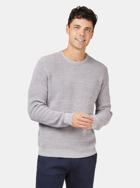 Spencer Textured Crew Knit