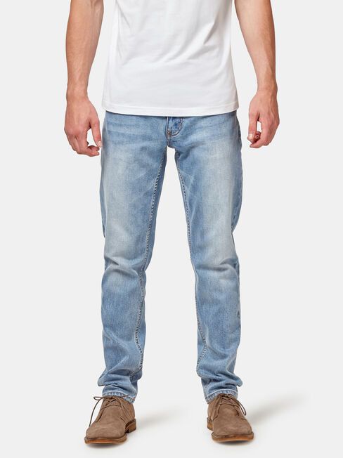 Slim Tapered Jeans Modern Blue