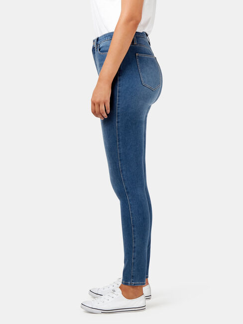 Freeform 360 Contour Curve Embracer Skinny Jeans, No Wash, hi-res