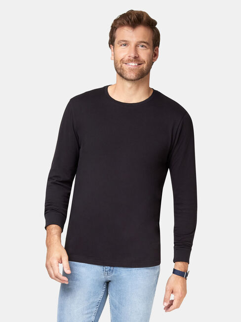Weston Tee, Black, hi-res