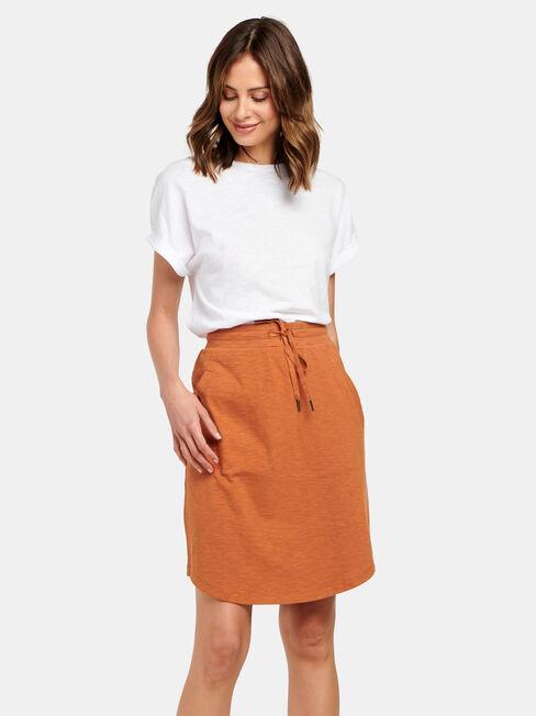 Julie Jersey Slub Skirt