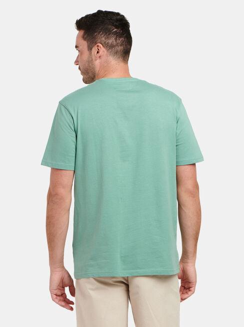 Levi Short Sleeve Print Crew Tee, Green, hi-res