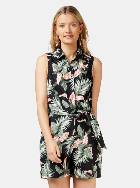 Petal Sleeveless Playsuit