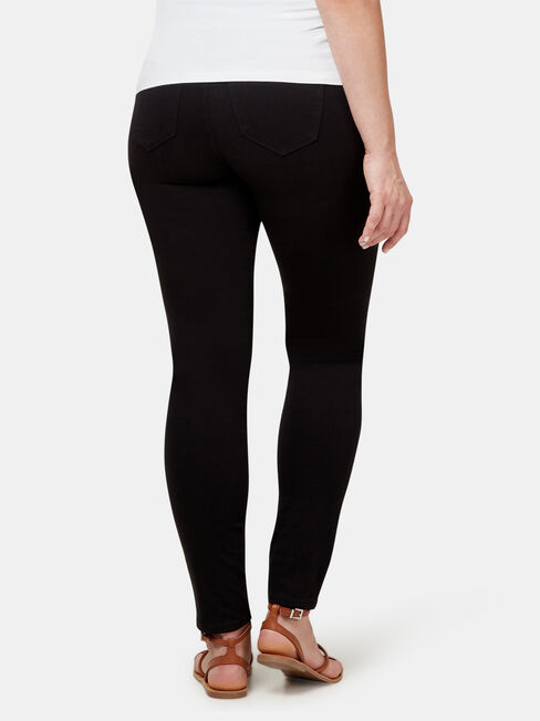 Maternity Skinny Jeans Black Night