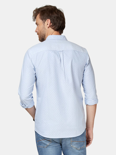 Elliot Oxford Shirt, Blue, hi-res