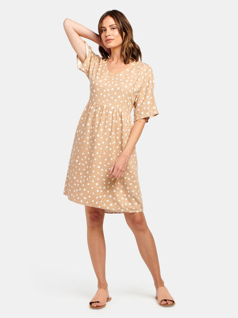 Bec Linen Blend Dress