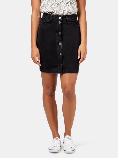 Kelly Button Through Skirt