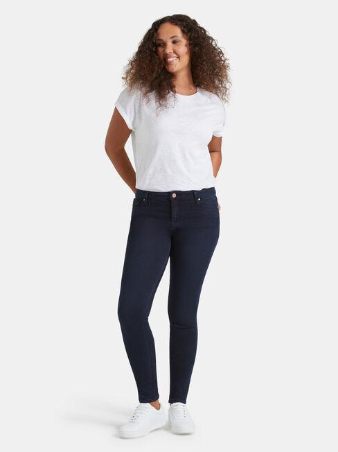 Skinny Jeans Indigo Ink, Dark Indigo, hi-res