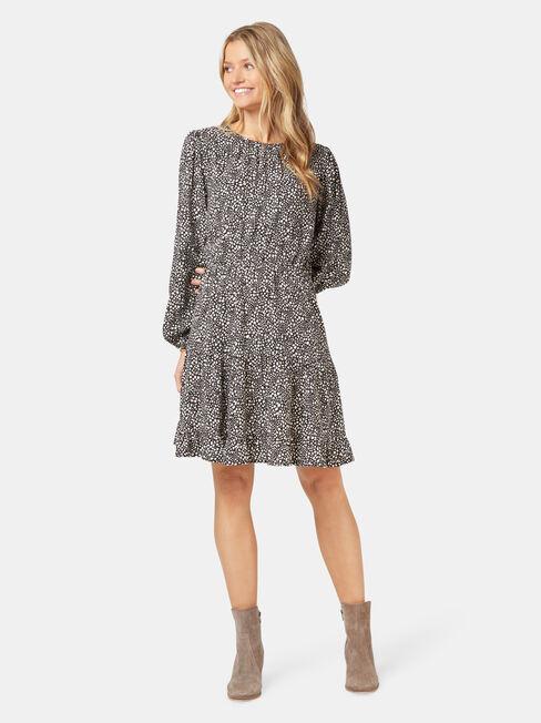 Chloe Tiered Dress, Multi, hi-res