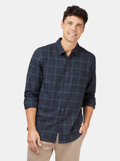 LS Anton Brushed Check Shirt