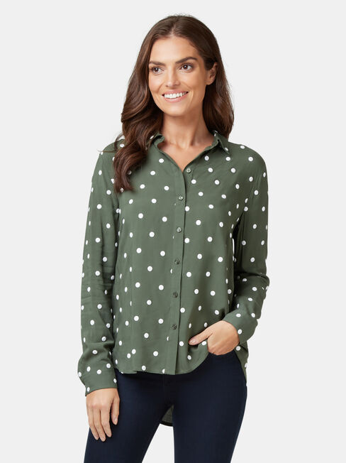 Thea Embroidered Shirt