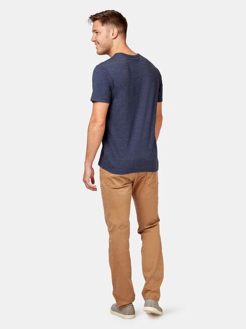 Slim Straight Jeans Tobacco, Coloured, hi-res