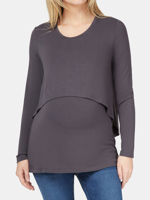 Lauren Layered Maternity Top
